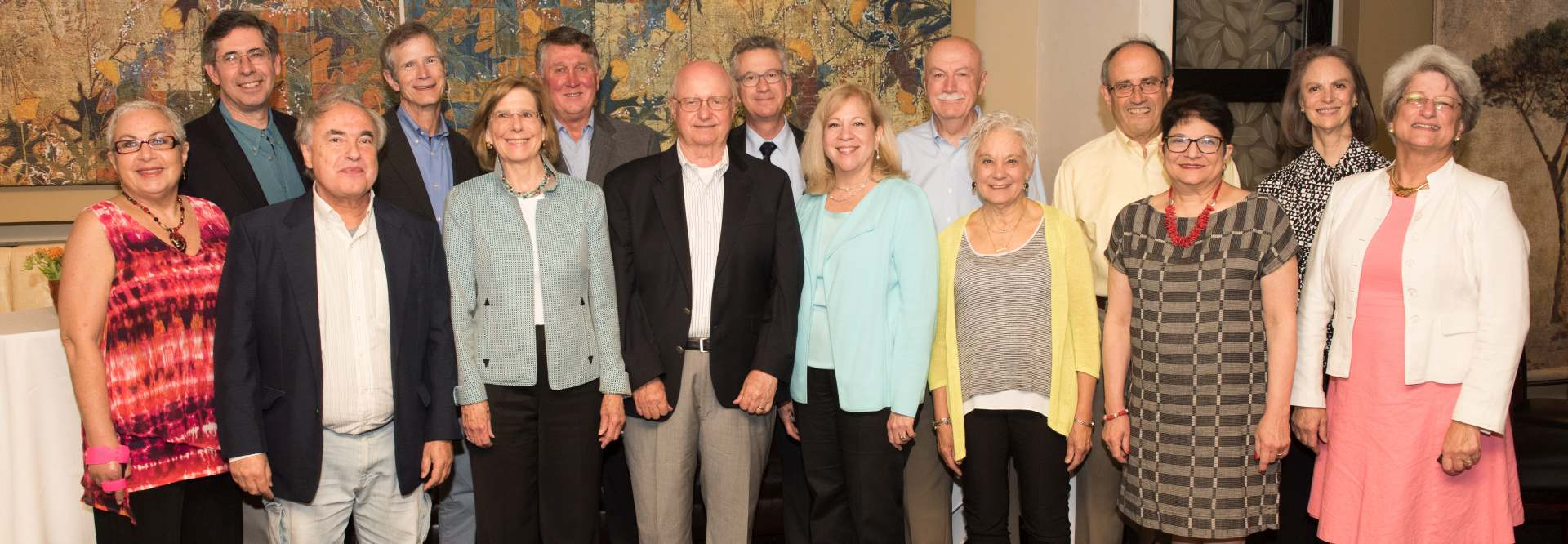 Members of the GW Law Class of 1977 during their 40th year reunion