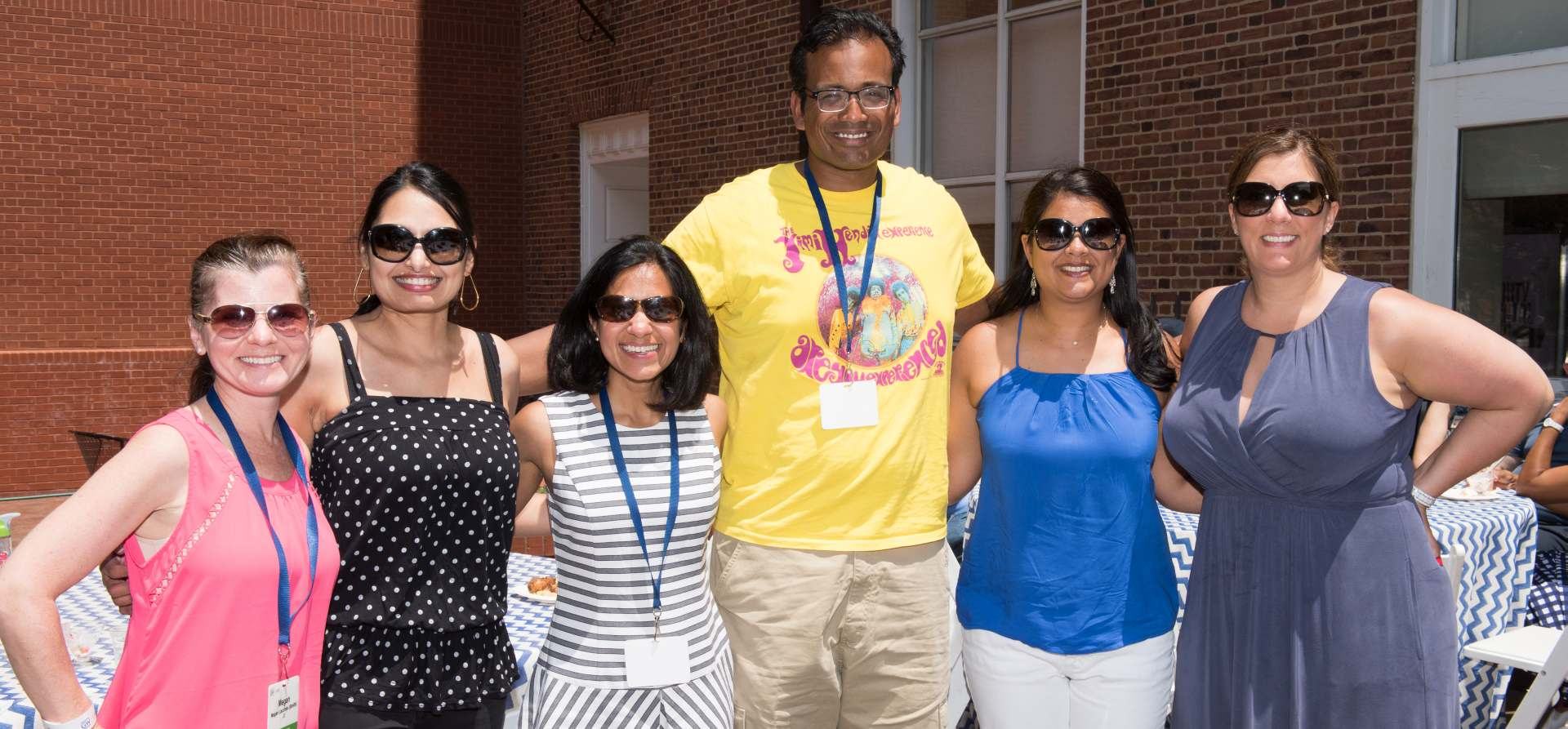 GW Law Alumni at the Family-Friendly BBQ during Reunion Weekend 2017