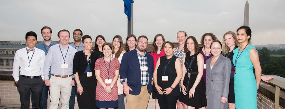 Members of the GW Law Class of 2011 during their 5th year reunion.
