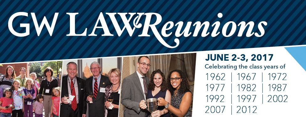 Save the Date - Reunion Weekend 2017!