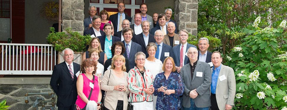 Members of the GW Law Class of 1980 during their 35th year reunion.